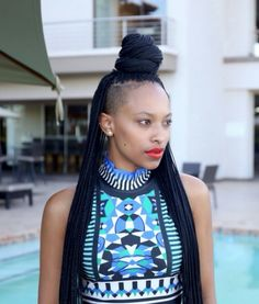 Now Trending - Braids & Twists With Shaved Sides 13