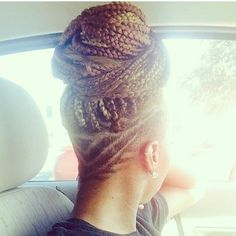 Now Trending - Braids & Twists With Shaved Sides 14