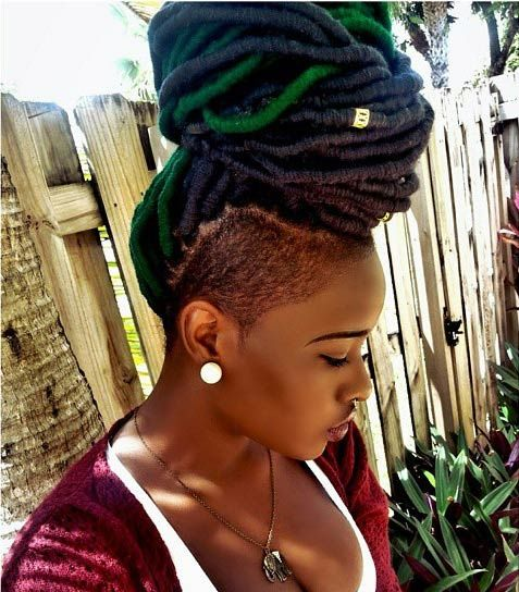 Now Trending - Braids & Twists With Shaved Sides 18