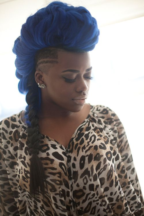Now Trending - Braids & Twists With Shaved Sides 19