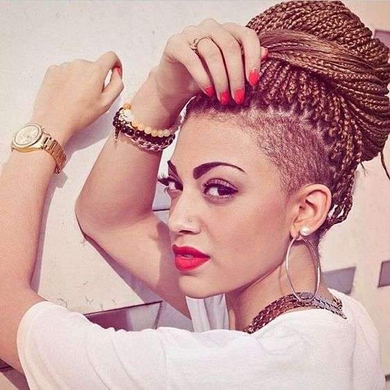 Now Trending - Braids & Twists With Shaved Sides 4