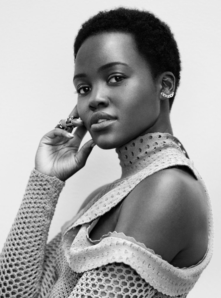 On The Cover - Lupita Nyong'o for InStyle Magazine April 2016 4