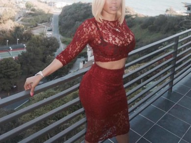 Slayed - Keyshia Cole Rocks Blonde Bob Haircut