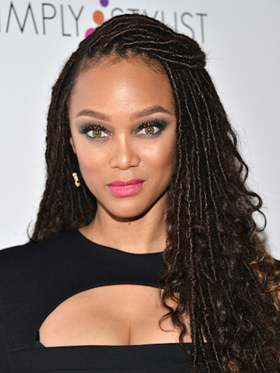 Tyra Banks Gets In On Faux Locs Trend 2