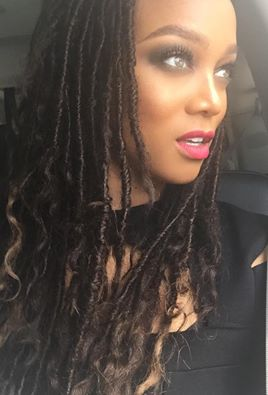 Tyra Banks Gets In On Faux Locs Trend 4