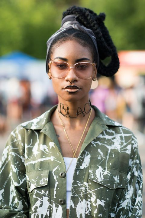 2016 Festival Hairstyles For Black Women 24