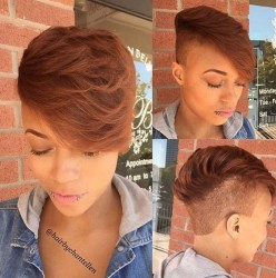 2016 Short Hair Cut Ideas For Black Women 4
