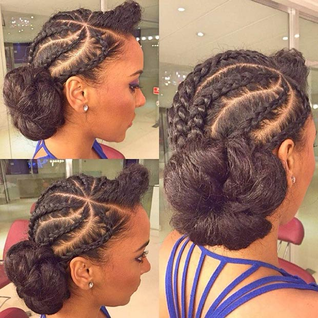 2016 Spring & Summer Hairstyles for Black Women 12