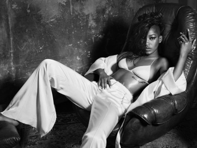 Keke Palmer Looks Smoking Hot In The Latest Issue of Interview 5