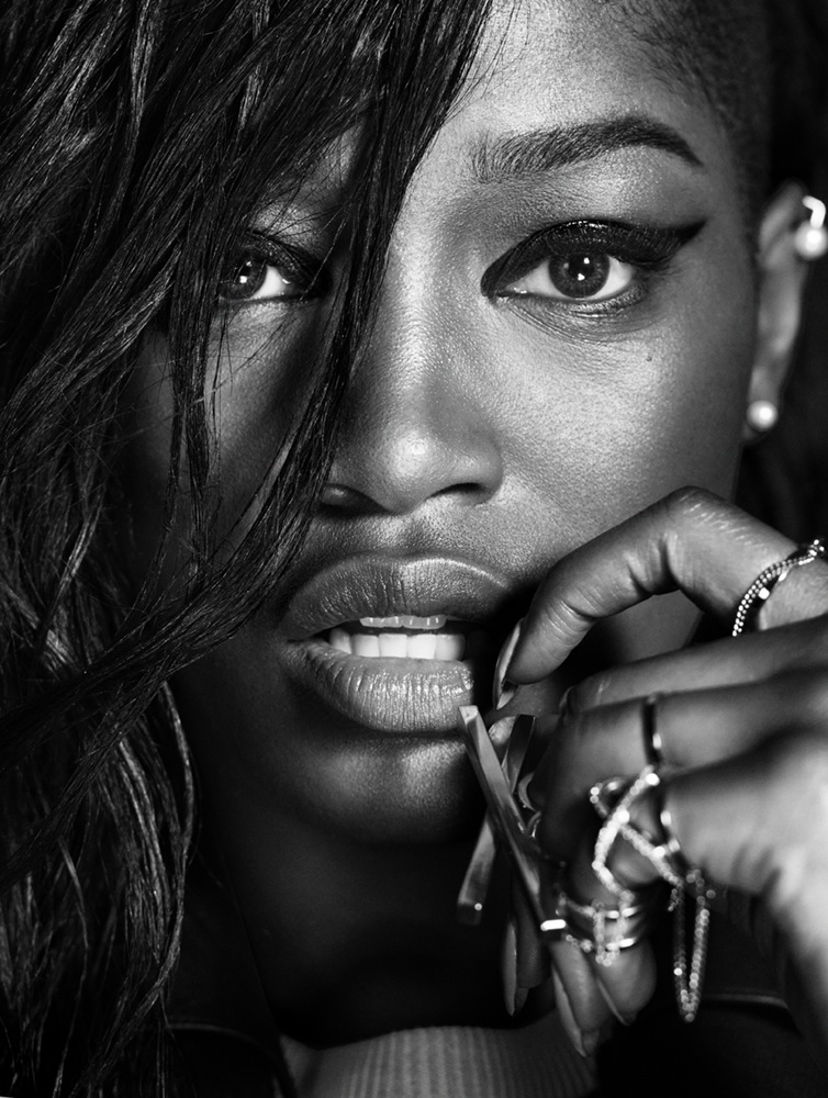 Keke Palmer Looks Smoking Hot In The Latest Issue of Interview