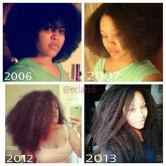 27 Natural Hair Progression Photos To Inspire Your Hair Journey 10