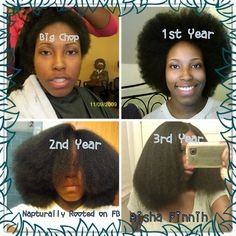 27 Natural Hair Progression Photos To Inspire Your Hair Journey 12