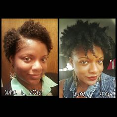 27 Natural Hair Progression Photos To Inspire Your Hair Journey 13