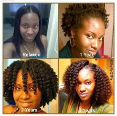 27 Natural Hair Progression Photos To Inspire Your Hair Journey 17