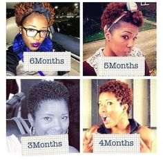 27 Natural Hair Progression Photos To Inspire Your Hair Journey 18