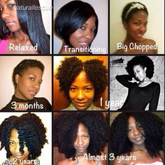 27 Natural Hair Progression Photos To Inspire Your Hair Journey 2