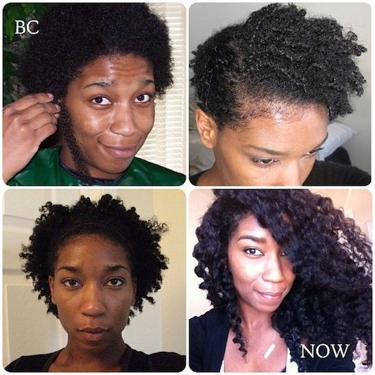 27 Natural Hair Progression Photos To Inspire Your Hair Journey 22