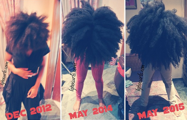27 Natural Hair Progression Photos To Inspire Your Hair Journey 24