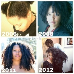 27 Natural Hair Progression Photos To Inspire Your Hair Journey