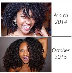 27 Natural Hair Progression Photos To Inspire Your Hair Journey 4