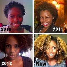 27 Natural Hair Progression Photos To Inspire Your Hair Journey 5
