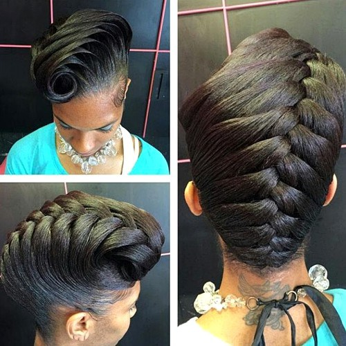 Braided Natural Hair Ideas for Summer 10
