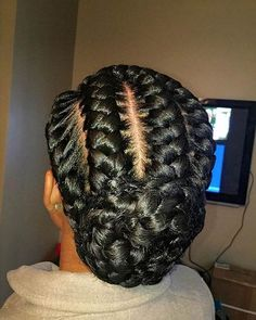 Braided Natural Hair Ideas for Summer 2