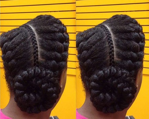Braided Natural Hair Ideas for Summer 21