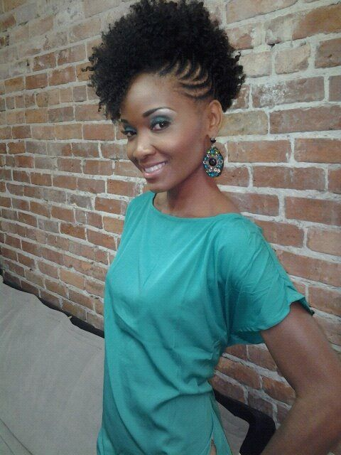 Braided Natural Hair Ideas for Summer 23
