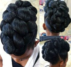 Braided Natural Hair Ideas for Summer 3