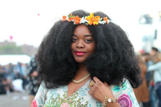 Now Trending - Floral Crowns & Natural Hair 13