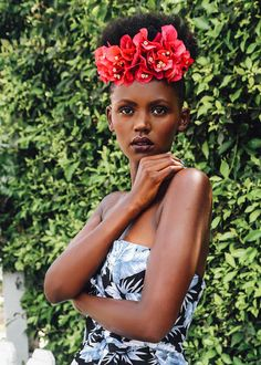 Now Trending - Floral Crowns & Natural Hair 15