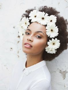 Now Trending - Floral Crowns & Natural Hair 20