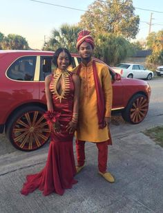 #Slayed - 30 Times African Print Prom Dressed Stole The Scene 13