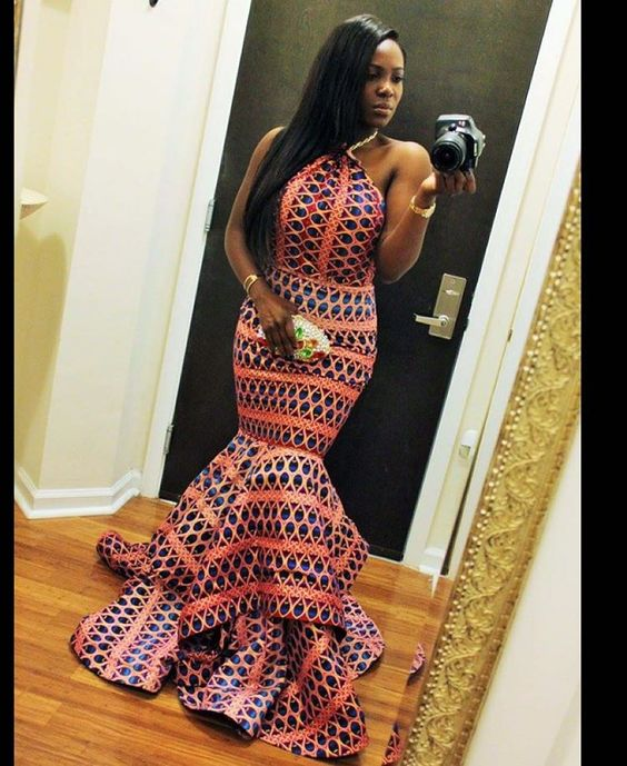 #Slayed - 30 Times African Print Prom Dressed Stole The Scene 4