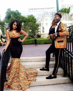 #Slayed - 30 Times African Print Prom Dressed Stole The Scene 8