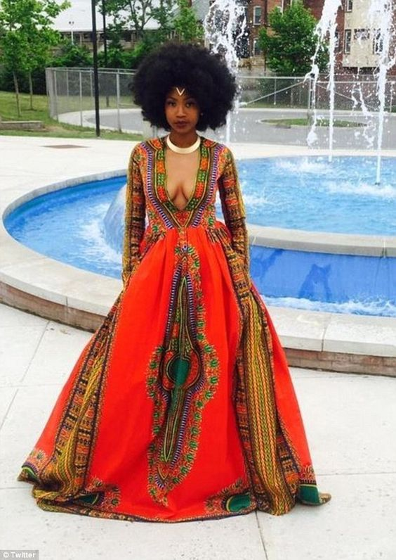 slayed � 30 times african print prom dresses stole the