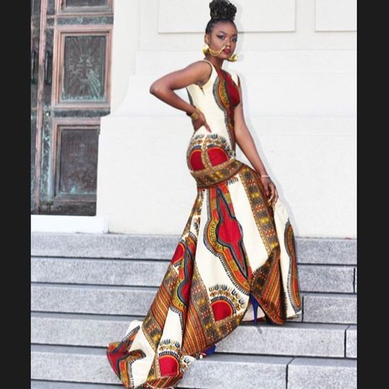 #Slayed - 30 Times African Print Prom Dressed Stole The Scene27