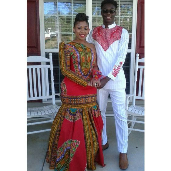 #Slayed - 30 Times African Print Prom Dressed Stole The Scene28