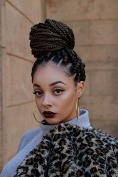 2016 Fall - 2017 Winter Hairstyles for Natural Hair 8