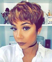 2017 Edgy Haircut Ideas for Black Women  5