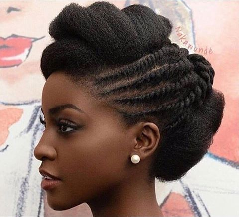 2017 Wedding Hairstyles For Black Women 16