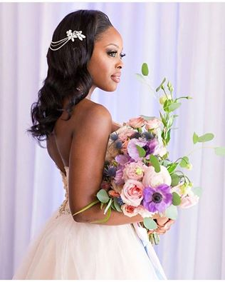 2017 Wedding Hairstyles For Black Women 18