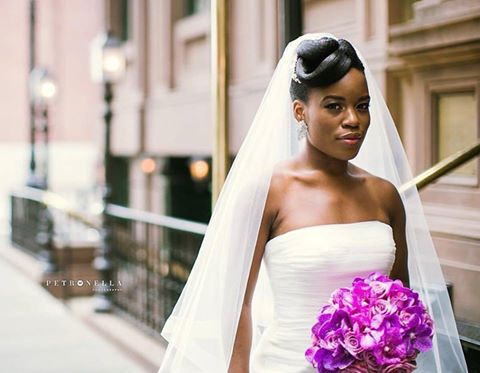 2017 Wedding Hairstyles For Black Women 19