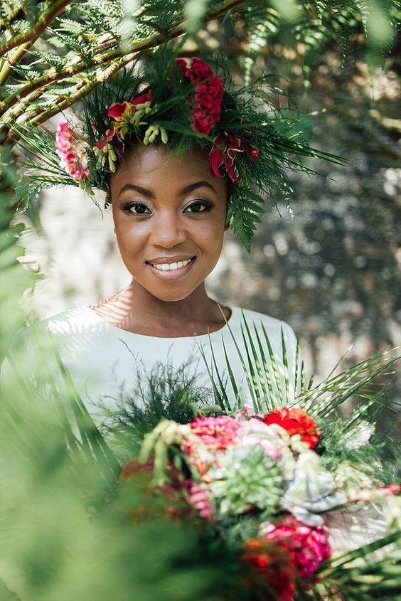 2017 Wedding Hairstyles For Black Women 3
