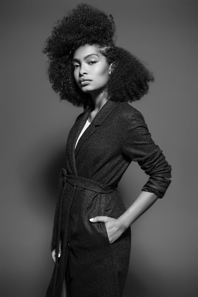 Yara Shahidi Shows Her Curly Mane In Paper The Style