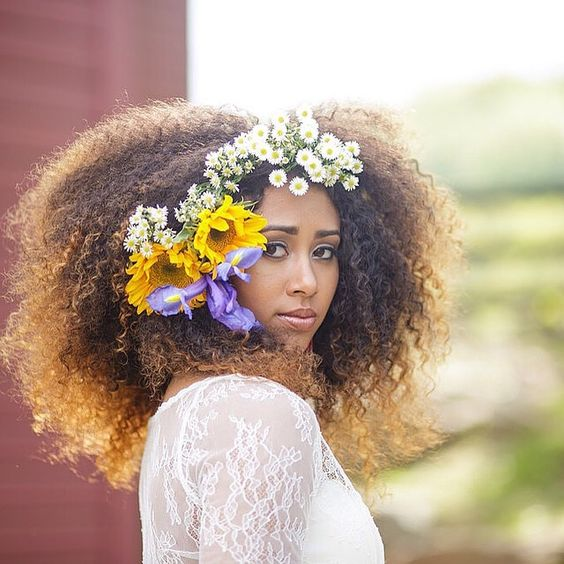 Wedding Hairstyle For Natural Curly Hair: 2018 Wedding Hairstyle Ideas For Black Women
