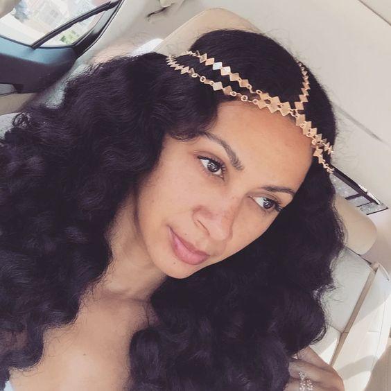 43-black-wedding-hairstyles-for-black-women-gold-braid