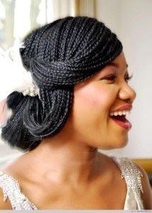 43-black-wedding-hairstyles-for-black-women-tiny-braids-214x300