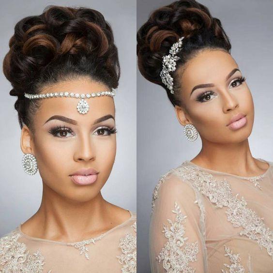43-black-wedding-hairstyles-for-black-women-updo